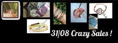 31 Août 2014  de 11h00 à 18h00 Crazy Sales CbyC  78 Rue des Hauts Droits  6280 Gerpinnes  www.claudiapiergentili.com