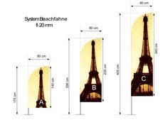 Beachfahn - new type of wingflags - http://screen-print.biz/flags-en/beachfahn-new-type-wingflags/