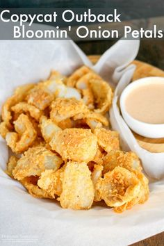 Outback Bloomin' Onion Petals (Copycat) Outback Bloomin' Onion Petals taste just like the popular recipe! Pair them with the Bloom Sauce and. Blooming Onion Recipes, Outback Blooming Onion Sauce, Onion Petals, Recipe Creator, Appetizer Recipes, Appetizers, Fondue Recipes, Brunch Recipes, Popular Recipes