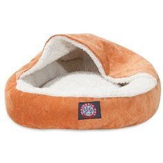 "Majestic Pet Products 18"" Villa Orange Canopy Bed"