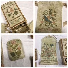 Last weekend was Stitchville's Spring Fling with Blackbird Designs. Little House Needleworks, Blackbird Designs, Tudor Rose, Drawn Thread, 8th Of March, Sewing Accessories, Christmas Cross, Needle And Thread, Pin Cushions