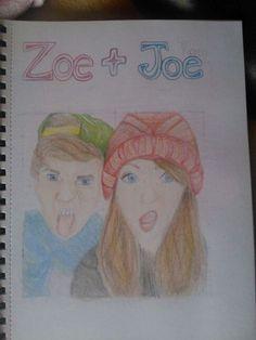 Zoe and Joe Sugg... #youtubers