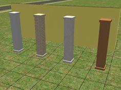 Mod The Sims - Square Column