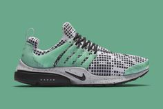 A Pixelated Pattern Highlights this Nike Air Presto