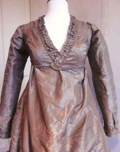lavender tafetta dress c.1810