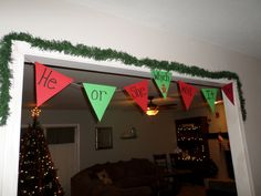 "Christmas Gender Reveal Party: theme was ""He or She, Which Will It Be?"" We used gingerbread boys and girls in the decorations to keep in line with the Christmas theme Sibling Gender Reveal, Baby Gender Reveal Party, Gender Party, Christmas Baby Reveal, Christmas Themes, Gender Reveal Party Decorations, Party Themes, Gender Announcements, Pinterest Projects"
