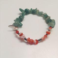 Orange and emerald by OAKlinzy on Etsy