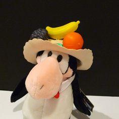 Opus Plush Carmen Miranda Hat Bloom County Doll by plattermatter2