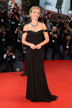 The top 10 red carpet dresses of 2013--> #5. Scarlett Johansson