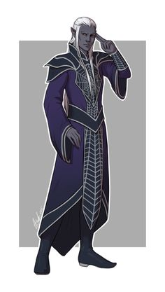 Kimmuriel Oblodra for all-the-drow by personwithouttalent