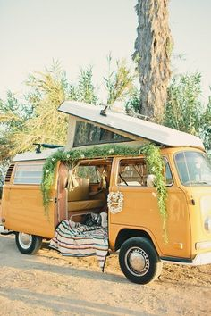 Cool Volkswagen 2017: Hippie wedding inspiration   Vintage California ideas   100 Layer Cake  VAN VIBES