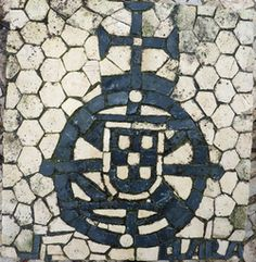 Pebble Mosaic, Portugal Travel, Knights Templar, Sculpture, Pavement, Travel Posters, Portuguese, Walkways, Stones