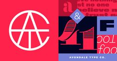 Avondale Type Co. – Your friendly neighborhood type foundry.