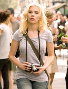 Scarlett Johansson in 'Vicky Cristina Barcelona' Movie Stills