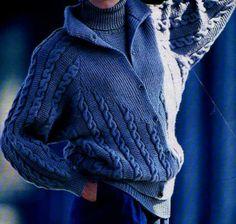 [Tricot] La veste à col montant - La Boutique du Tricot et des Loisirs Créatifs