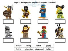 Lego Learning with printables Kindergarten Writing, Baby Learning, Word Work, Sight Words, Legos, Literature, Classroom, Printables, Teaching