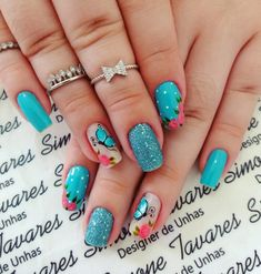 100 Fotos de Unhas decoradas Românticas Diy Nails, Cute Nails, Spring Nails, Acrylic Nails, Nail Designs, Projects To Try, Nail Art, Beauty, Pink Polish