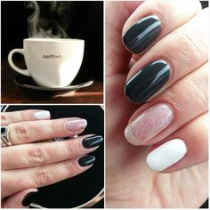Is it coffee o'clock yet? #ibd just gel polish #vikinwinter #whippedcream…