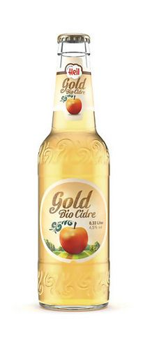 Bio Cidre Gold organic cider #packaging #design