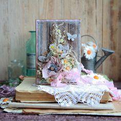 Беллкин блог: Четыре открытки, по уши в цветочках :)