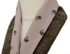 SALE!! HARRIS TWEED Vintage Scarves scarf women s accessories designer