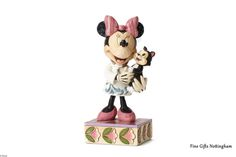Disney Traditions Minnie Mouse Veterinarian Figurine #DisneyTraditionsMinnieMouseFigurine #VeterinarianTenderLoveCare4049631 #FineGiftsNottingham