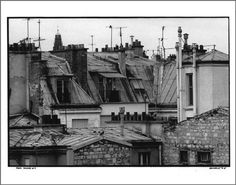 Paris Rooftops, Photograph: (1987).
