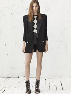 Love the jacket!  Balmain Croisière 2013|18