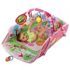Bright Starts Deka na hraní 5-v-1 Garden Fun Baby's Playplace™