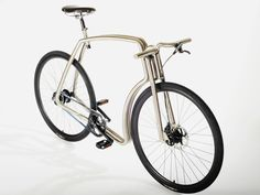 Bicicleta+Urbana+Acero+Inoxidable+Pulida Viks