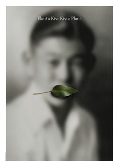 Olant a Kiss, Kiss a Plant, Jerry Takigawa Natural recall, exhibition Venice 2014 Blur Photography, Narrative Photography, Poster Photography, Photography Exhibition, Still Photography, Artistic Photography, Digital Museum, Communication Art, Exhibition Poster