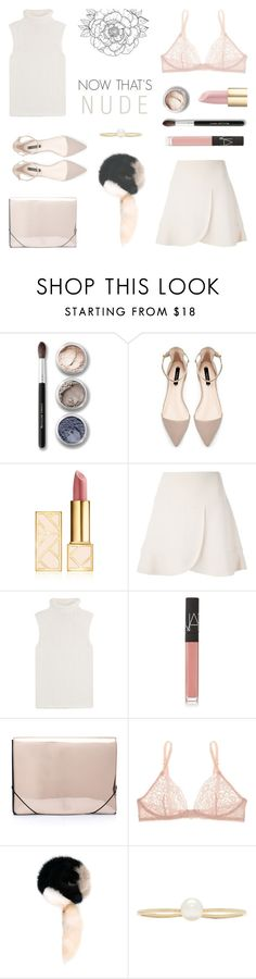 """Now that's Nude"" by rachaelselina ❤ liked on Polyvore featuring Bare Escentuals, Tory Burch, Chloé, Theory, NARS Cosmetics, MM6 Maison Margiela, STELLA McCARTNEY, Marni and Sophie Bille Brahe"