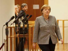 A chanceler da Alemanha, Angela Merkel, lamentou no domingo em Berlim o fracasso das negociações da CDU com os liberais do FDP e com Os Verdes para a formação de um novo governo.