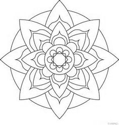 Lotus flower Mandala to color - Bing Images