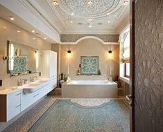 Ванная комната в восточном стиле: создание интерьера в восточном стиле - интрьер, дизай и плитка для ванной в восточном стиле
