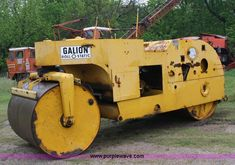 Galion Roll-O-Static steel drum roller in Washington, KS for sale at auction Heavy Equipment Auctions, Asphalt Pavement, Road Construction, Steel Drum, Antique Tractors, Crane, Drums, Industrial, Outdoor Decor