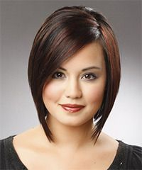 Medium Straight Formal hairstyle: Formal Medium Straight Hairstyle