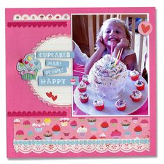 will use this idea for cupcakes to daycare Cupcake birthday page