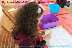 Kids workshops facilitated by Art in the Park artist resident Patricia Gurgel-Segrillo Kids Workshop, Art In The Park, Cork City, Artist, Artists