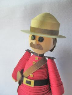 Miniature+Canadian+Mounted+Police+in+by+fashionedforyouinnh,+$15.00