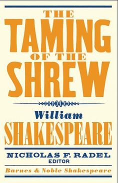William Shakespeare | The Taming of the Shrew