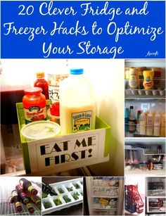 20 Clever Fridge and Freezer Hacks to Optimize Your Storage {Genius Ideas}