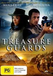 """Treasure Guards        Treasure Guards      Treasure Guards  Ocena:  4.60  Žanr:  Adventure  """"Three daredevils must uncover God's lost treasures in one almighty adventure!""""During an excavation in the remote Jordanian desert archaeologist Victoria Carter discovers an ancient parchment buried in the ruins of an ancient temple. It indicates the location of the long lost 'Seal of Solomon' which according to legend by God himself to King Solomon was given. But this treasure is also sought by…"""