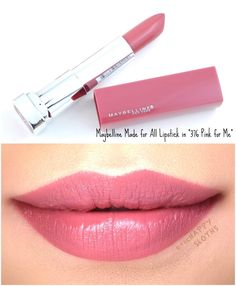 Maybelline - Makeup Looks Classic Lip Gloss Colors, Lip Colour, Lipstick Colors, Pink Lipstick Shades, Maybelline Lipstick, Lipstick Swatches, Matte Lipstick, Best Lipsticks, Pink Lipsticks