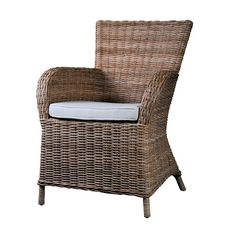 Wickerworks Rattan Rook Dining Chair (Set Of 2) -  - Rattan Chair - NovaSolo - Space & Shape - 1