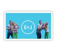 Ellie and Jared Sticker