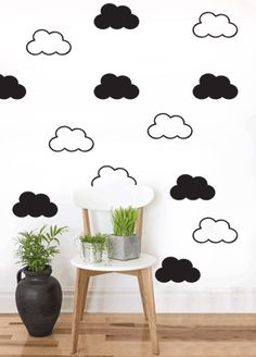 Cloud Pattern Wall art South Africa Stickart