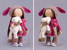 Handmade doll Tilda doll Collection doll by AnnKirillartPlace