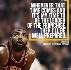 Kyrie irving and lebron james quote kyrie irving quotes, basketball quotes Basketball Quotes, Basketball Pictures, Kyrie Irving Quotes, Lebron James Quotes, Sports Humor, Funny Sports, Epic Fail Pictures, Healthy People 2020 Goals, Sport Quotes
