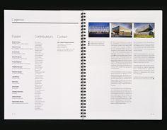 Book De L'agence D'architecture CFA | Raphaël Tardif – Graphiste Papier & écran